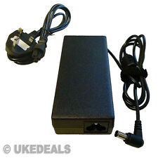 LAPTOP CHARGER ADAPTER FOR SONY VIAO VGP-AC19V28 + LEAD POWER CORD