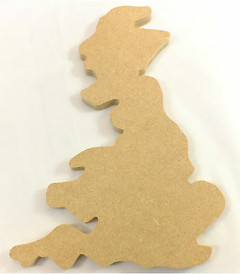 UK wooden map-Educational map for everybody-hand made from mdf