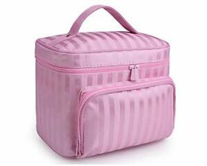 JooNeng - borsa per cosmetici, impermeabile, beauty case da viaggio con maniglia