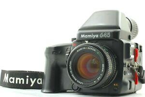 Exc-4-Mamiya-645-Pro-Camera-de-filme-com-Sekor-C-80mm-F-2-8-N-Lente-do-Japao-1976
