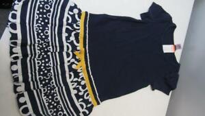 Gymboree-Cape-Cod-Cutie-Blue-White-Gold-Dress-NWT-Size-8-TL62