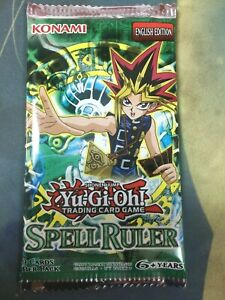 Yu-Gi-Oh SPELL RULER SRL Booster Pack English Unlimited Sealed