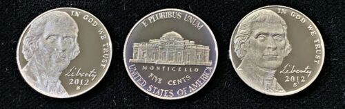 2012-S PROOF JEFFERSON NICKEL!! This is for 1 Nickel!!!