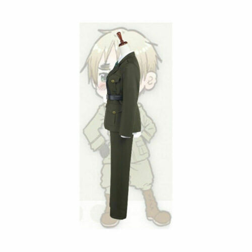 APH Axis Powers Hetalia England UK Arthur Kirkland Cosplay Costume Outfit