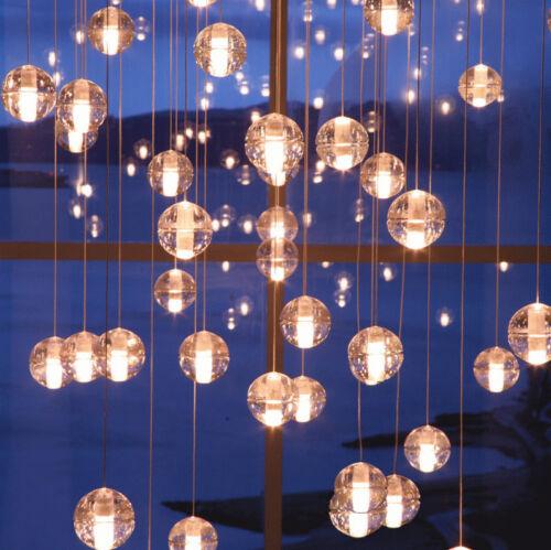 New Magic Crystal Ball LED Pendant Light Ceiling Lamp Chandelier Hotel Lighting