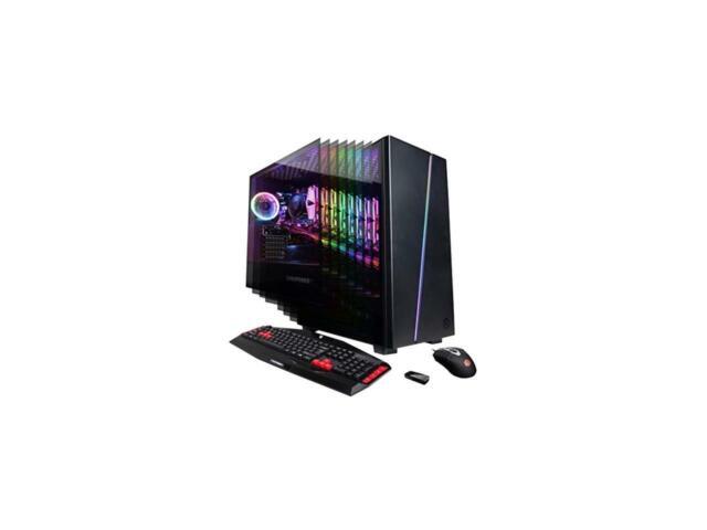 CYBERPOWERPC Gamer Master GMA600 Gaming PC (AMD Ryzen 3 2300X 3.5GHz, 8GB DDR4,