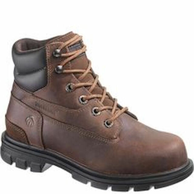 f7215bc7a37 Wolverine Women's Belle ST EH 6 Inch Cement Boot Boots in Brown Leather