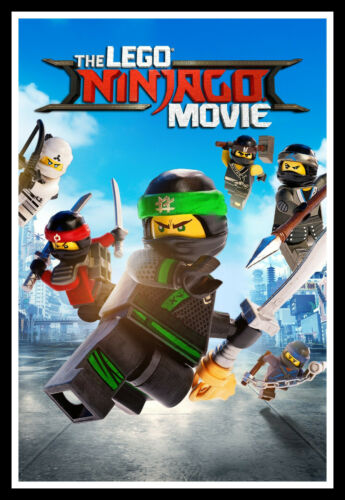 The Lego Ninjago Movie Movie Poster Print /& Unframed Canvas Prints