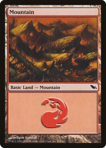 20x Shadowmoor MOUNTAIN #294 Same Art Basic Land NM/LP MTG Magic the Gathering
