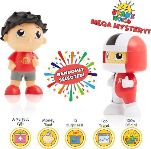 Ryan/'s World Toys Pack de Collection Mystère figure set World Ryan Action Figures