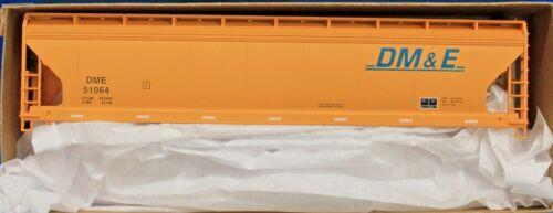 HO Scale MINNESOTA /& EASTERN 3 ACCURAIL 20722 DAKOTA Bay Covered Hopper Kit