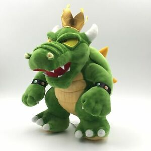 Details About Super Mario Bros King Koopa Bowser Plush Doll Stuffed Animal Toy 12 Inch Gift