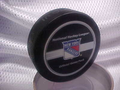 2008 Nhl Stanley Cup Playoffs New York Rangers Game Puck With