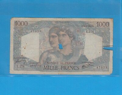 1 000 Francs Minerve Et Hercule Du 16-5-1946 E.276