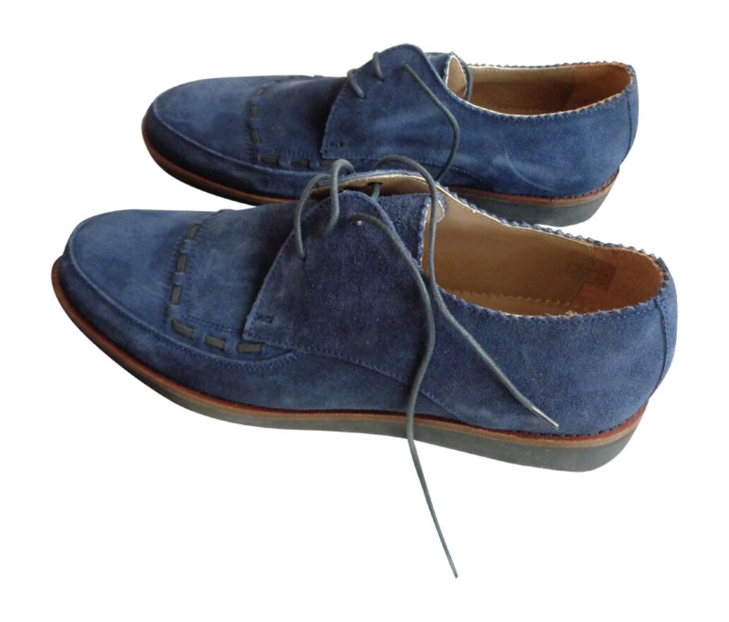 House Of Hounds Men's Navy Ted Suede Shoe - Navy Men's BRAND NEW .99 d76f93