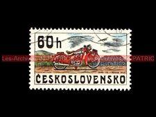 JAWA 175 PRAHA 1935 - CESKOSLOVENSKO - TCHECOSLOVAQUIE Moto Timbre Stamp