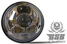 """LED SCHEINWERFER 5,75"""" mit Standlicht Harley Davidson DYNA Street Bob  CHROME"""