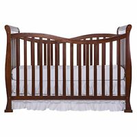 NEW & SEALED! Dream On Me Violet 7 in 1 Convertible Life Style Crib, (Espresso)