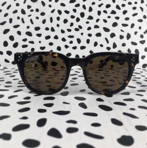 New Moscot Originals VILDA SUN Sunglasses in Tortoise Frame Brown Lens 51-22-145
