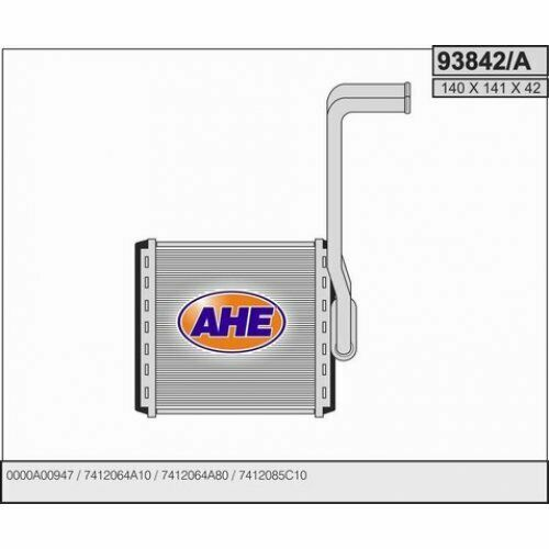 Chauffage échangeur de chaleur intérieur chauffage SUZUKI VITARA 88-99 qualifications 93842//a