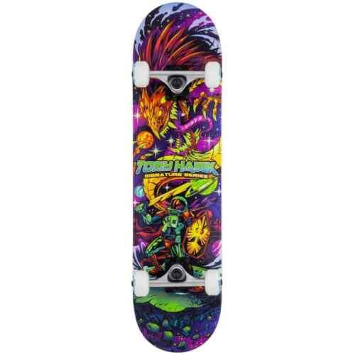 "TONY Hawk Signature Series SS 360 Skateboard completo COSMICO 7.75/"""