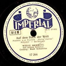 WILLY BERKING ORCH. & RUDI SCHURICKE Auf dem Dach der Welt / 1,2,3,4,5,6,7 S8632