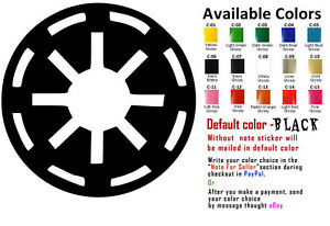 Galactic republic vinyl decal sticker car window starwars star wars logo design - Republic star wars logo ...