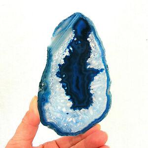 Banded-Blue-Agate-Slice-with-Quartz-Crystal-Polished-Geode-Slice-13-5cm