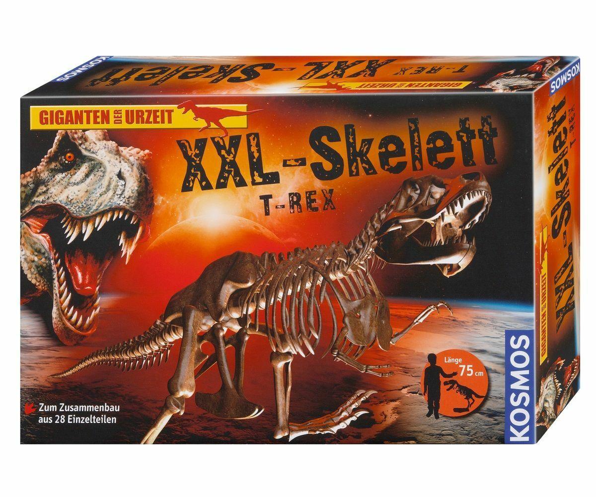 Kosmos Giganten Der Prehistoria XXL-SKELETT T-Rex   Dinosaurio Juego