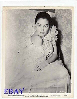 Ava Gardner sexy siren VINTAGE Photo Little Hut