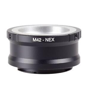 M42-to-Sony-E-mount-Adapter-Screw-Lens-NEX-a5000-A7-A7R-A7II-A7MII