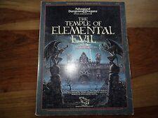 """""""The Temple of Elemental Evil"""" (D&D, AD&D, TSR)"""
