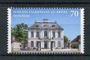 Germany-2018-MNH-Falkenlust-zu-Bruehl-Castle-1v-Set-Castles-Architecture-Stamps