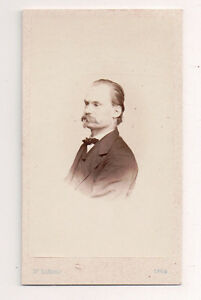 Vintage-CDV-Austrian-Noble-J-Szekely-Photo-Vienna