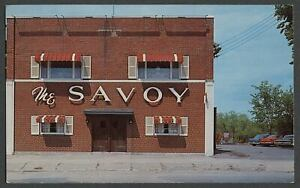 Rome NY: c.1960-64 Postcard THE SAVOY RESTAURANT, Destito Brothers Owners