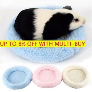 Rabbit-Cage-Fleece-Small-Animal-Bed-Guinea-Pig-Mat-Hamster-Sleeping-House