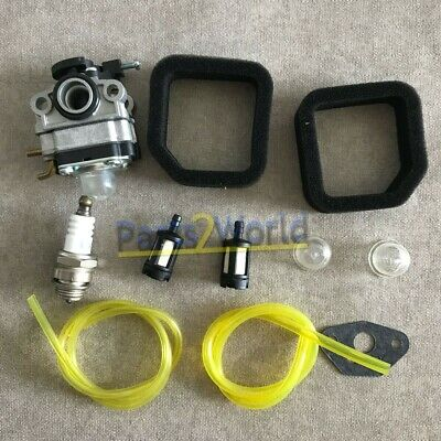 Carburetor Air Filter Kit For Troy Bilt TB516EC Edger 29cc 4 Stroke Engines Carb