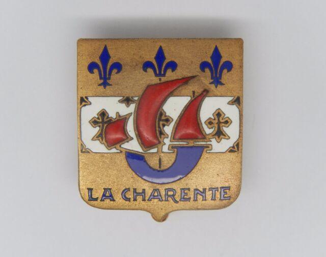 INSIGNE DE LA MARINE - La CHARENTE - Pétrolier - Drago O. Métra - N° 02