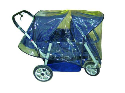 Protection contre la pluie pour crèche Voiture 4 Places poussette Dans TOP Qualité 50705-1