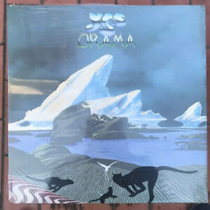 Yes-Drama-1980-LP-33-Vinile-Prima-Stampa-Atlantic-W-50736-Nuovo-Sigillato