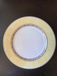 6-5-8-Heinrich-Villeroy-amp-Boch-VILLA-CANNES-Bread-amp-Butter-Plate-B-amp-B-Mint