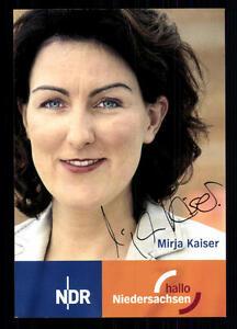 Mirja-Kaiser-NDR-Autogrammkarte-Original-Signiert-BC-26662