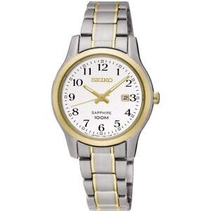 Seiko Ladies Two Tone Bracelet Watch   SXDG90P1 SQNP