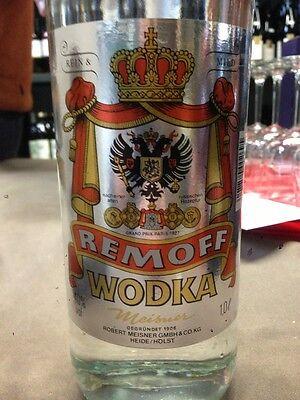 3x1,0l Liter Wodka v. Zollbeschlagnahmung reiner Getreide Vodka mit geiler Story