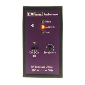 Image Is Loading Emfields Radaware Personal Microwave Detector Emf Meter 200mhz