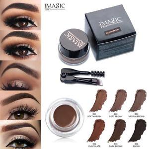 Eyebrow-Enhancers-Waterproof-Long-Lasting-EyeBrow-Gel-Cream-Makeup-Brush-NEW