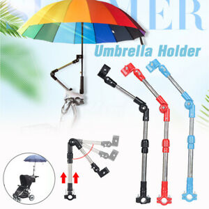 Universal-Golf-Umbrella-Holder-Stand-For-Buggy-Cart-Baby-Pram-Wheelchair-Stand
