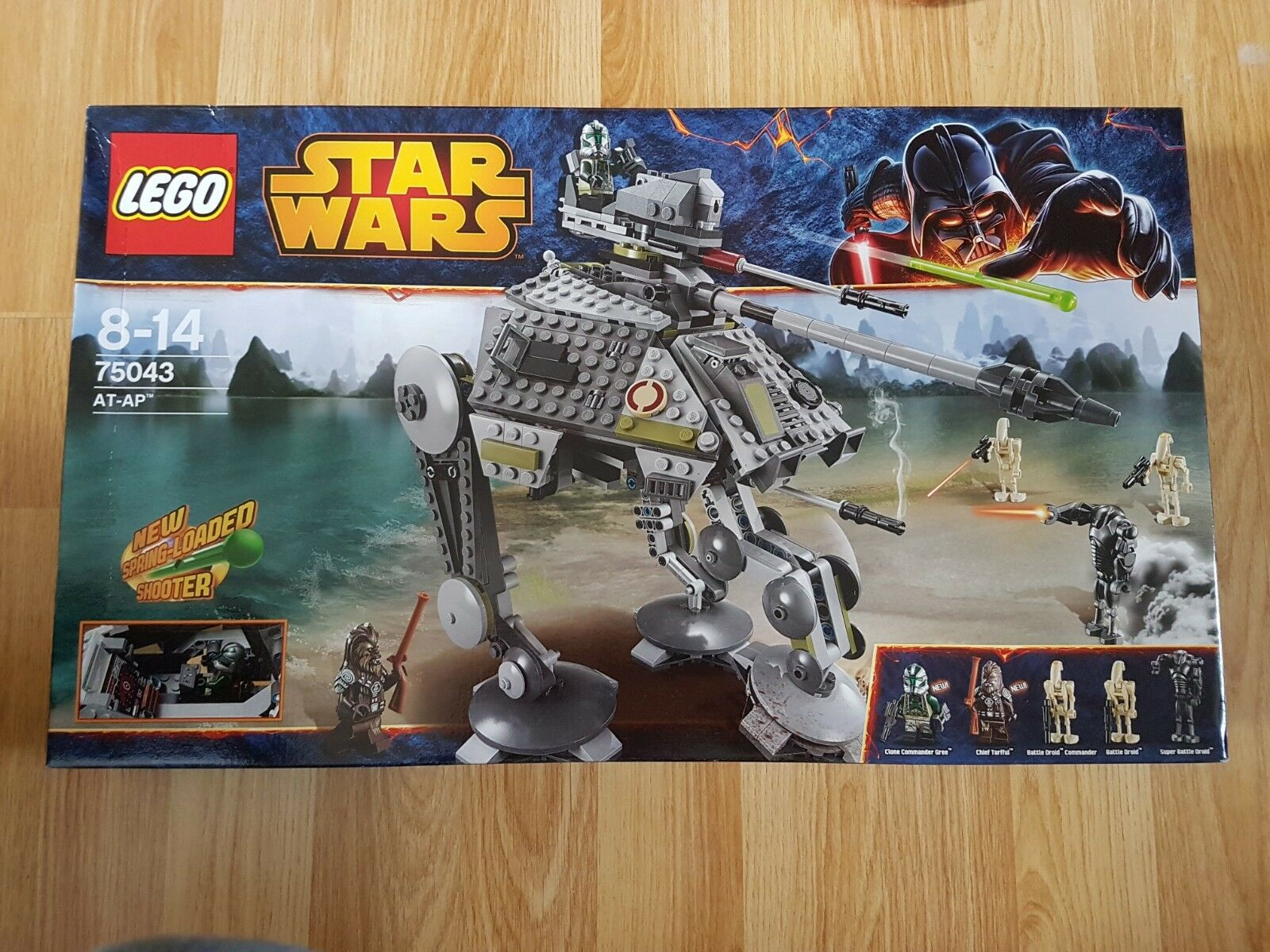 Lego Star Wars Retired Set 75043 - AT-AP [NEW]
