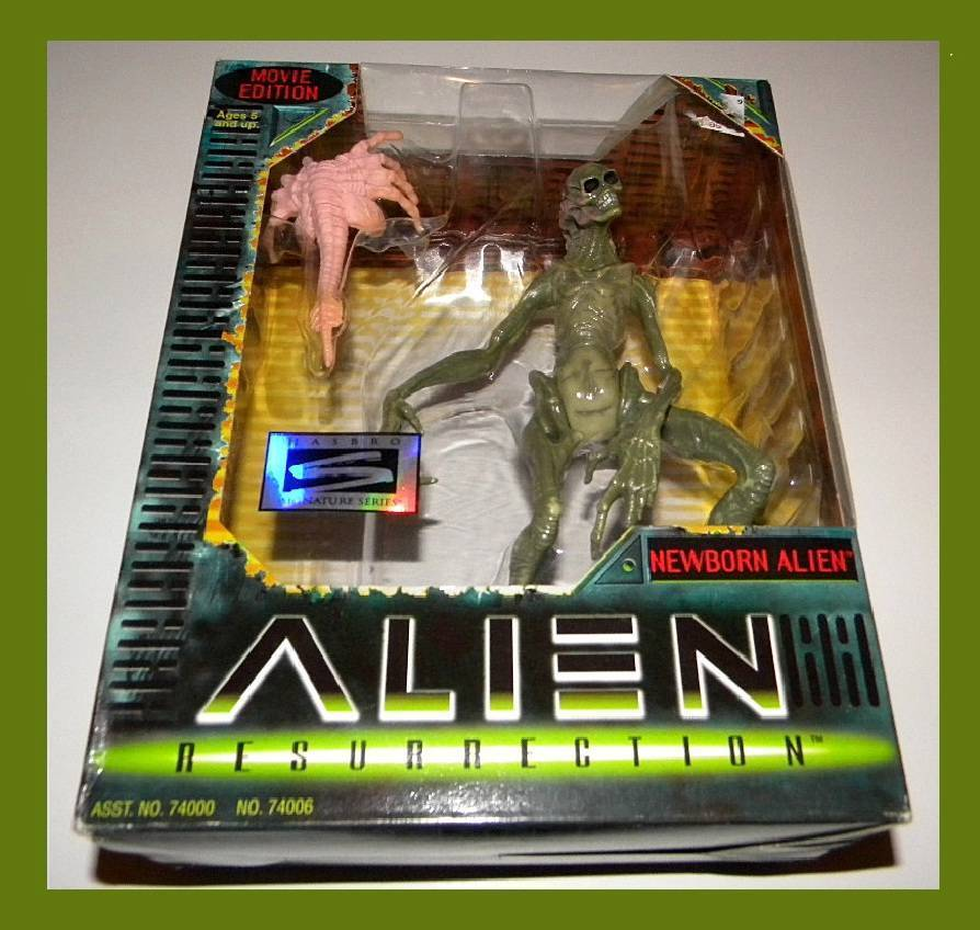 ALIEN RESURRECTION COMPLETE COMPLETE COMPLETE SET OF 6 ULTRA RARE MINT-IN-BOX FROM HASBRO 46b329