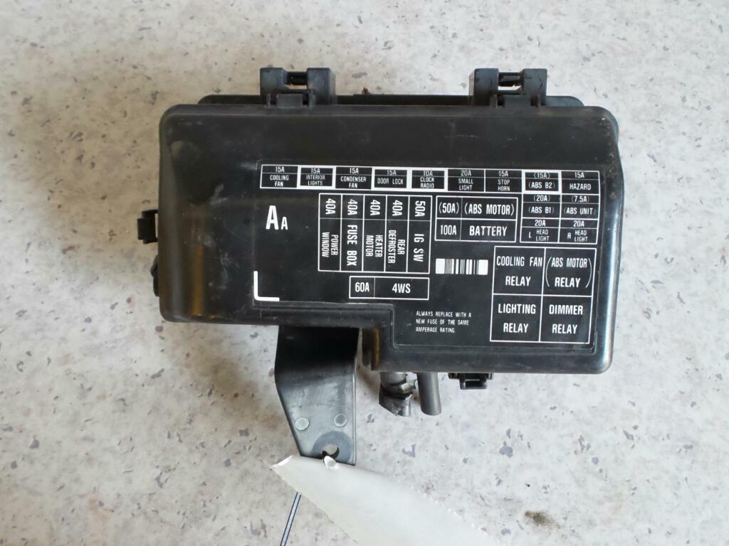 honda prelude fuse box engine bay bb1 12/91-12/96 91 92 93 94 95 96 | ebay  ebay